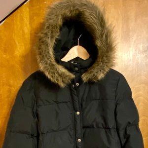 J Crew Women's Black Size M Coat